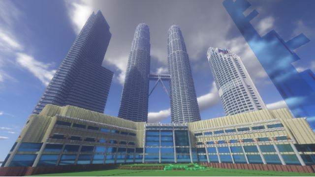 This Malaysian Built The Petronas Twin Towers On Minecraft!