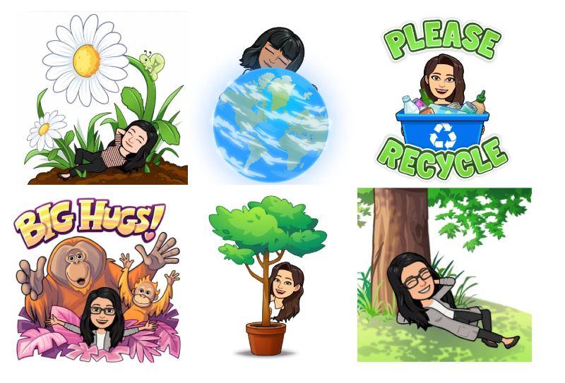 celebrate world environment day with bitmoji!