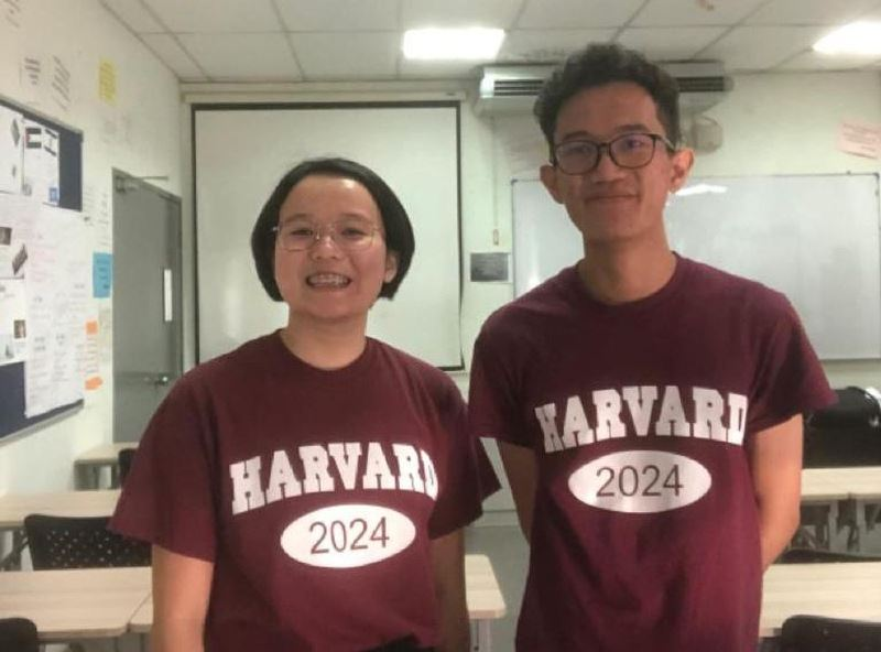 wow, these two malaysians were accepted into harvard!