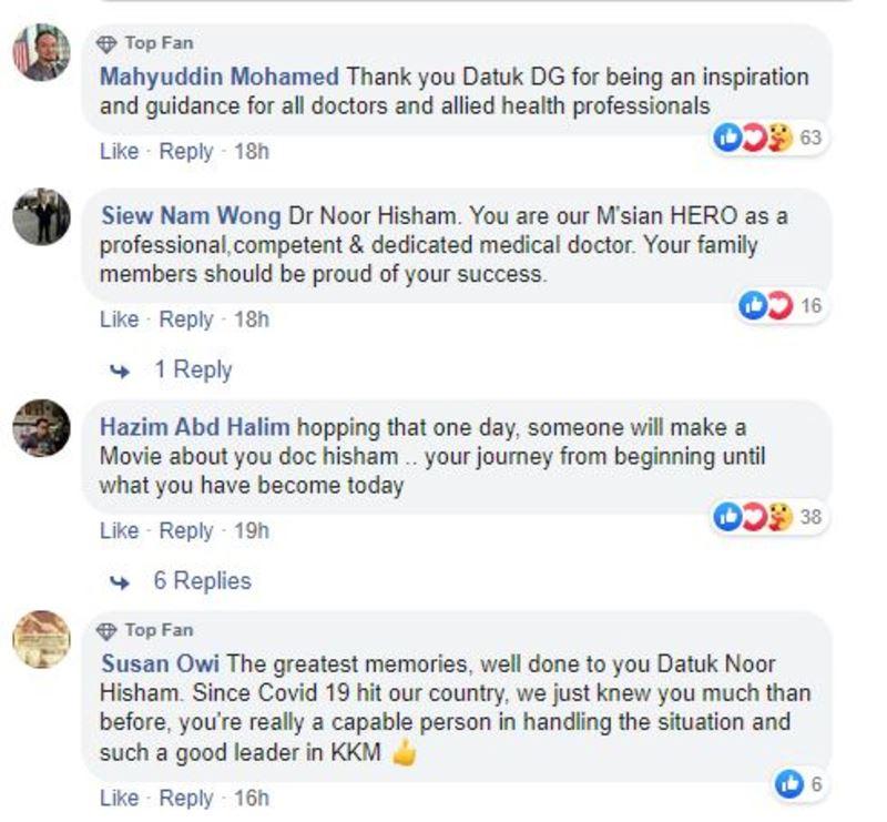 dr noor hisham's throwback photos left netizens in awe