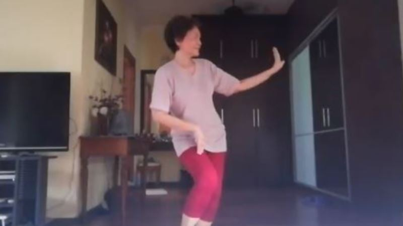 woman gracefully does the inang dance, leaving netizens in awe