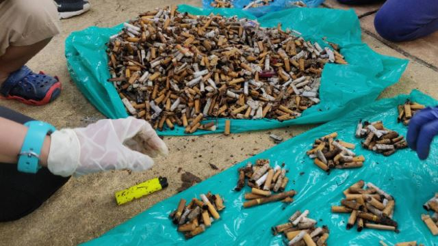 Japanese Man Collected 4,500 Cigarette Butts Found On The Streets Of Putrajaya