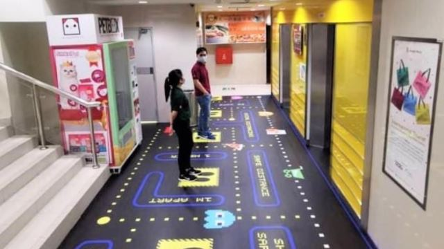 Play Pac-Man While Waiting In Line At Sungei Wang Plaza