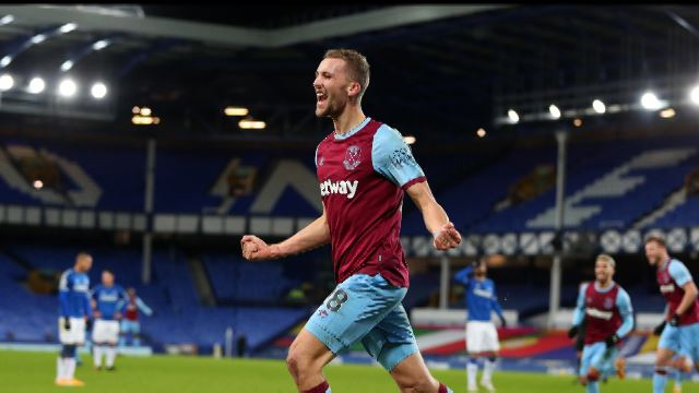 PL 20/21 Matchday 17 : EVE 0-1 WHU