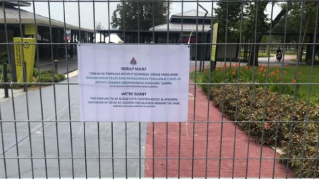 Taman Tasik Titiwangsa Closed After Receiving Too Many Visitors During CMCO