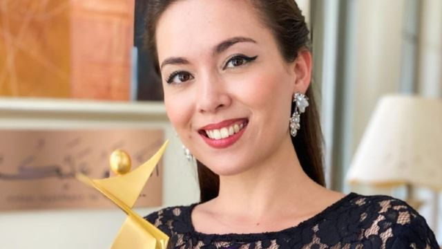 Malaysian Actress, Siti Saleha Wins International Award At The 15th Asia Model Festival!