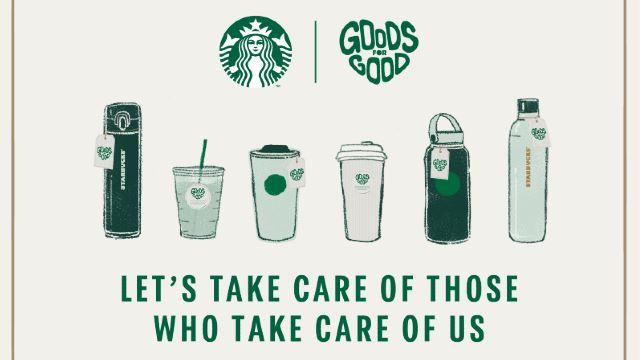 "Starbucks ""Goods for Good"" Campaign Raises Money Towards COVID-19 Relief Efforts"