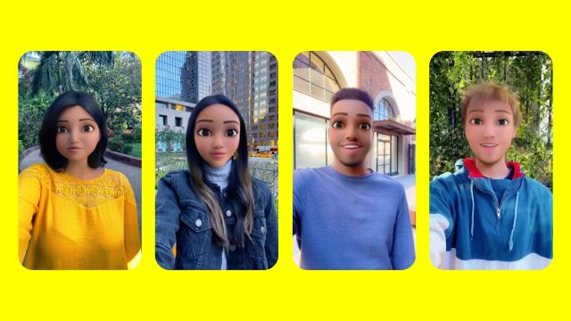 Turn Yourself Into A Cartoon Character With Snapchat's New Lens!