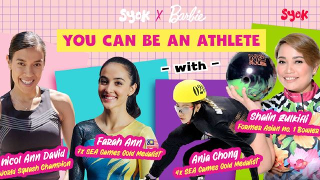 SYOK x Barbie: You Can Be An Athlete!