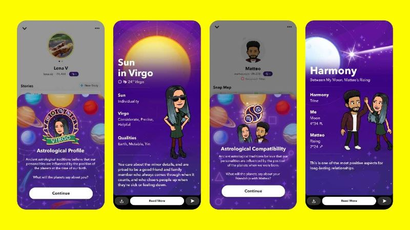 find out how compatible you are with your friends on snapchat!