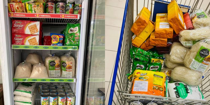 penang restaurant opens food bank to help people in need!
