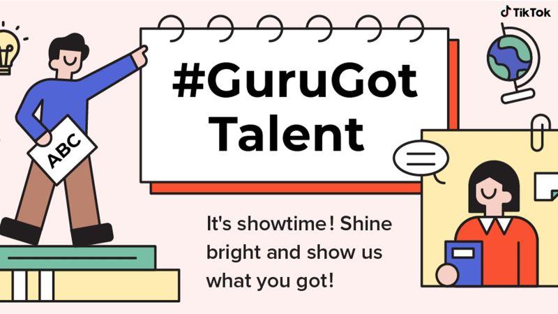 flex your brain muscles with #gurugottalent on tiktok!
