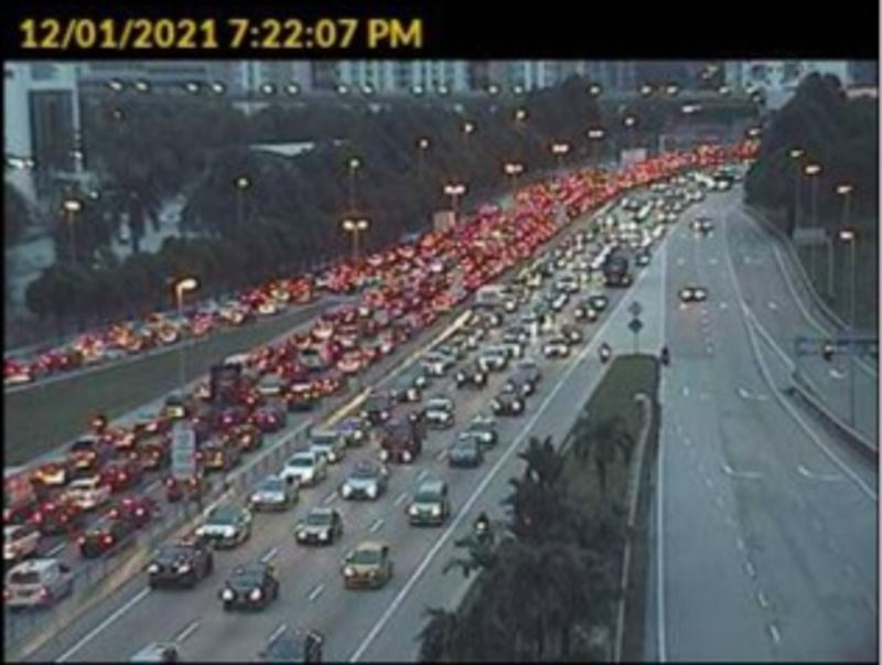 yesterday's pre-mco traffic was brutal & netizens were having none of it