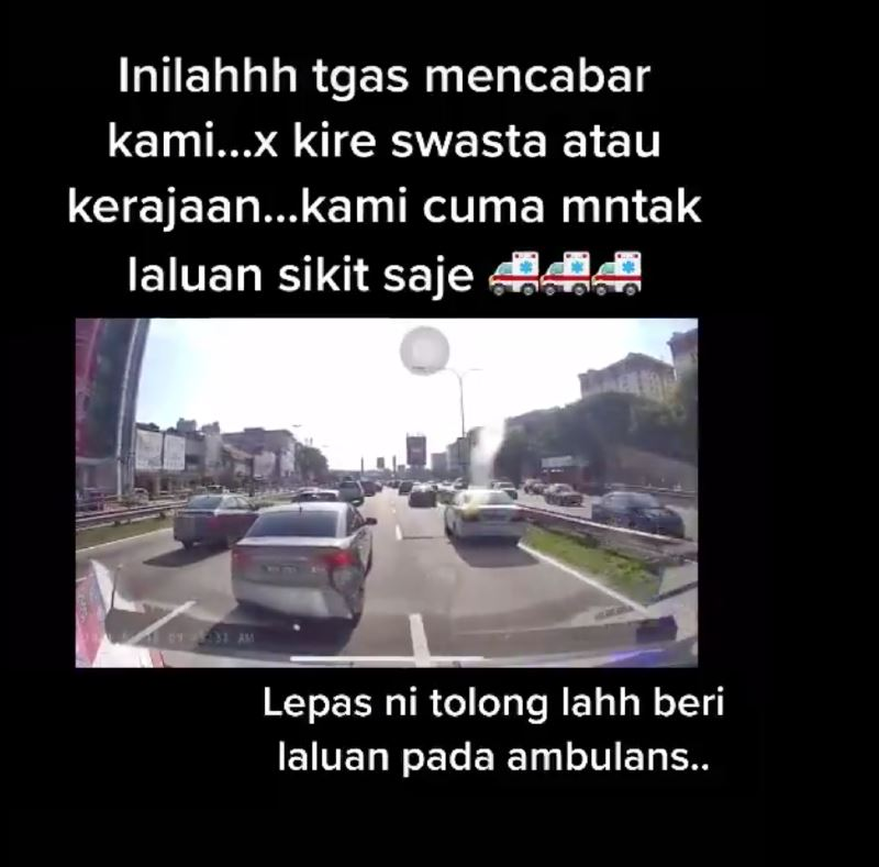 video of car blocking an ambulance's way goes viral, car owner apologises