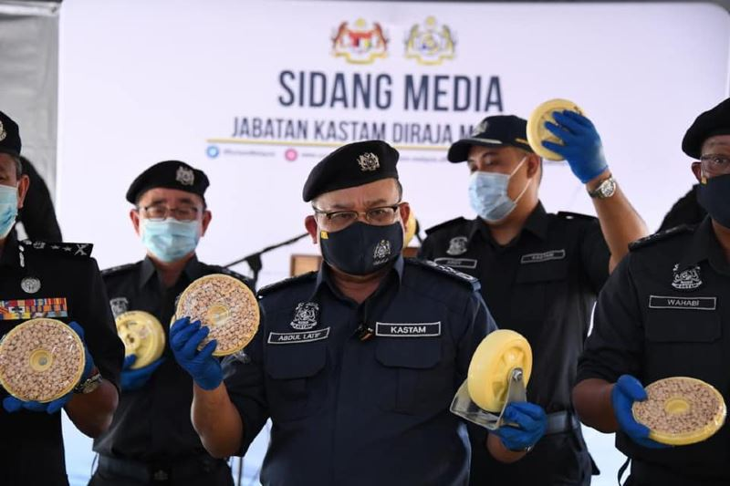 customs department seizes rm5.2b worth of drugs, biggest drug bust in m'sian history!