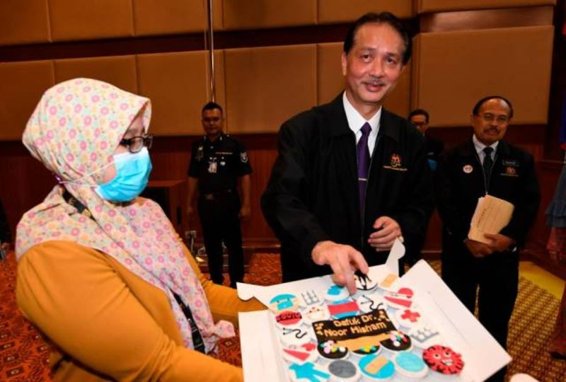 dg hisham wants nothing for his birthday except for malaysians to stay safe