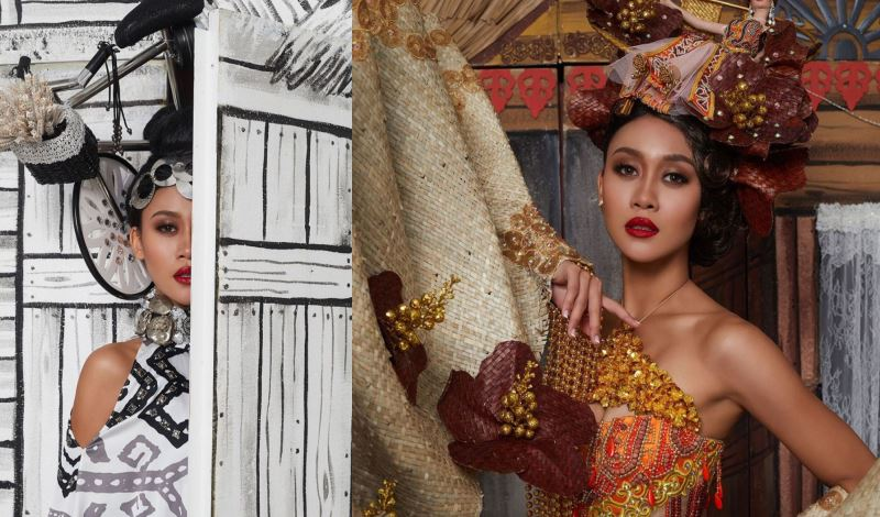 a kampung house replica will be part of miss universe malaysia 2020's national costume!