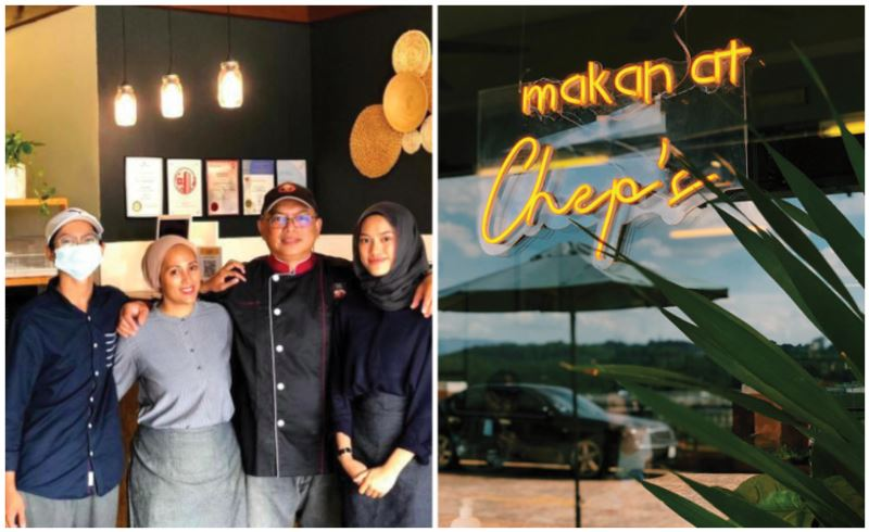 m'sian girl saddened that her father's restaurant did not have any customers, netizens band together
