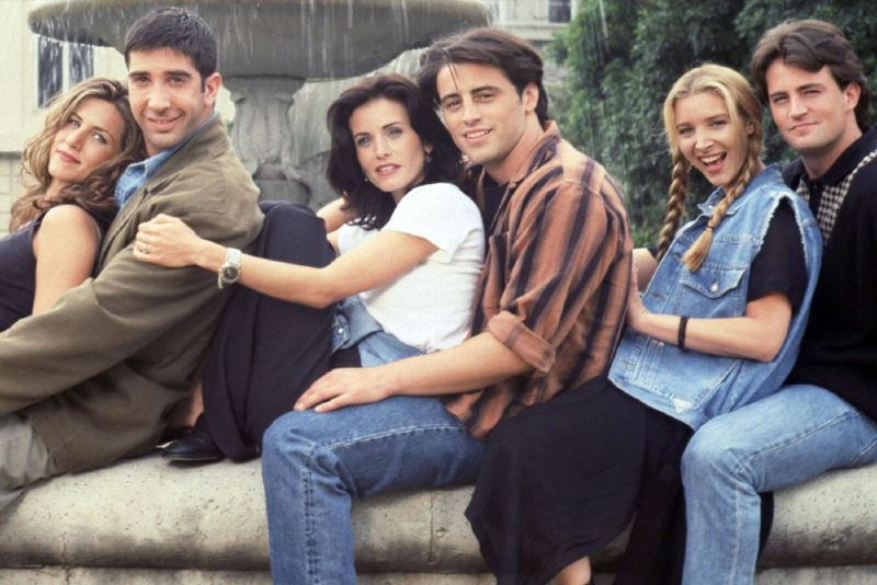 here are some of our favourite moments from the iconic sitcom, friends!