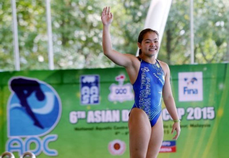 """""""don't only support us when we win"""" says national diver, dhabitah sabri"""