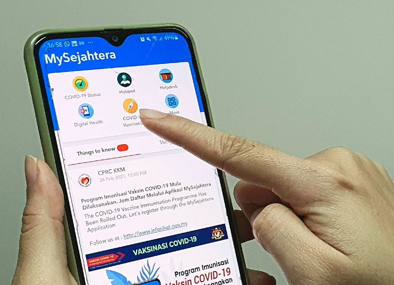 you don't need to resubmit your vaccination registration via mysejahtera