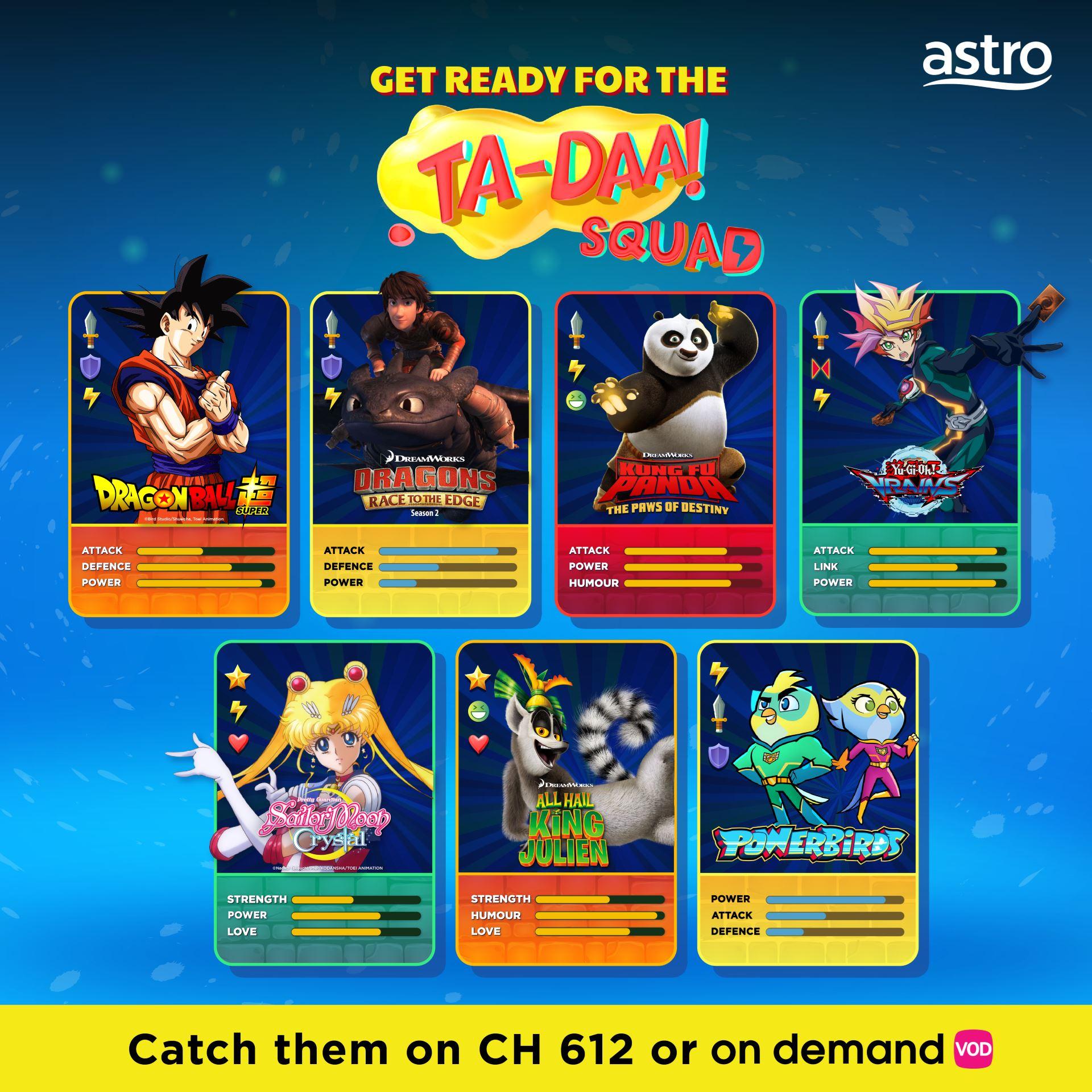 cuti sekolah is here! enjoy these popular kids' favourites on astro!