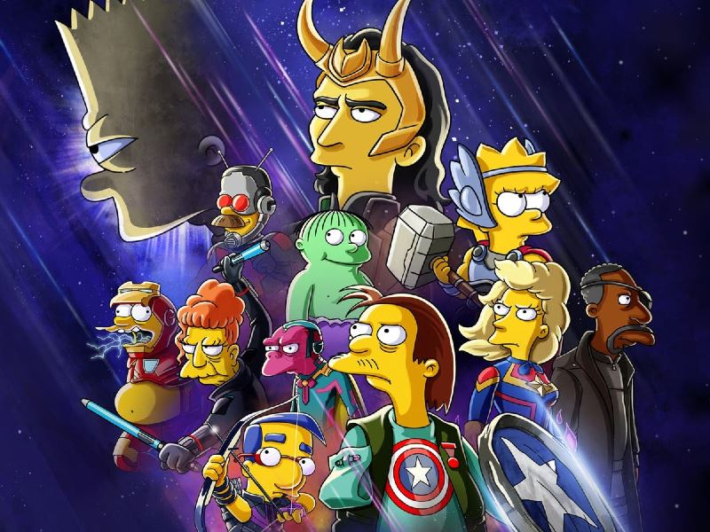 the simpsons assemble! the good, the bart and the loki premieres july 7th!