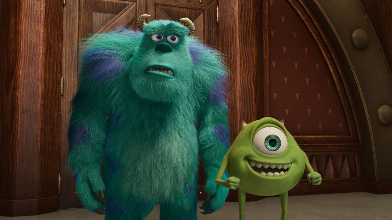 disney+ original series monsters at work debuts on disney+ hotstar!