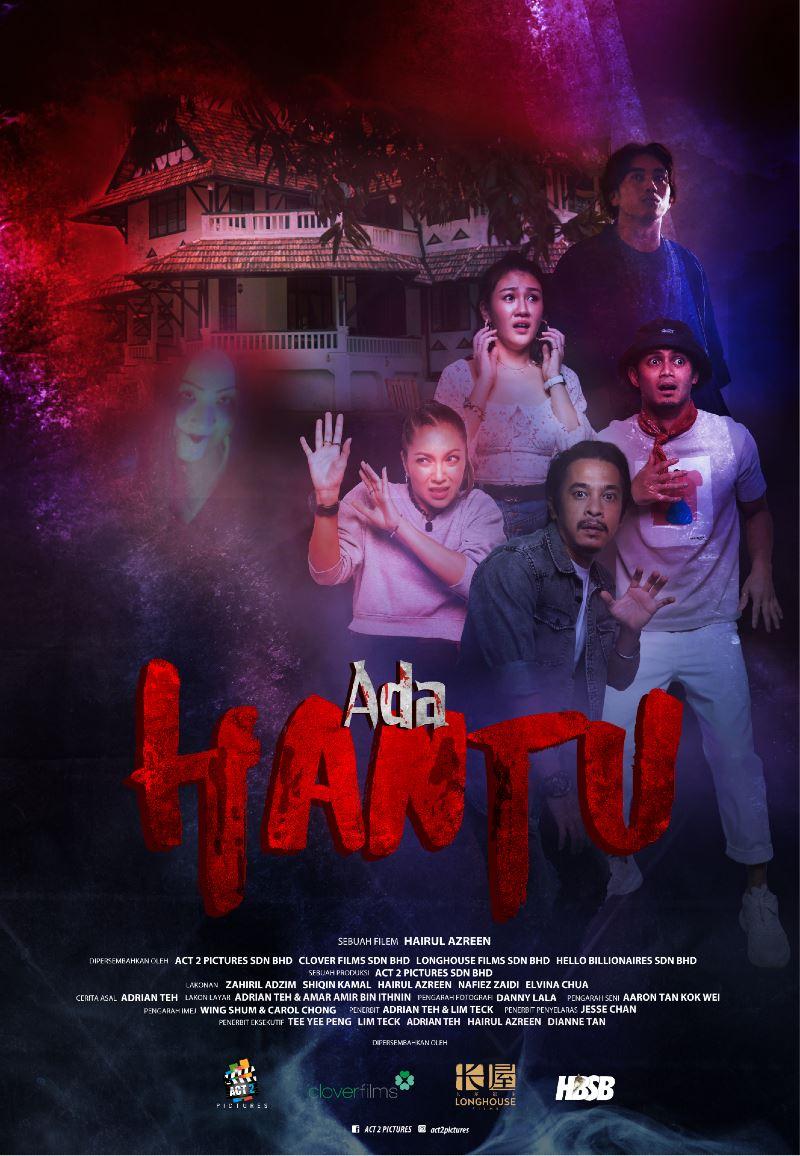 ada hantu marks actor hairul azreen's directing debut, premieres on disney+ hotstar august 13th