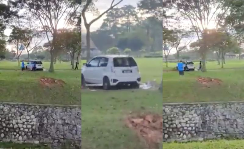 look up, it's a flying myvi!