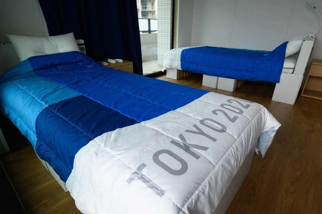 japan's olympic cardboard bed to be reused for covid-19 patients in osaka!