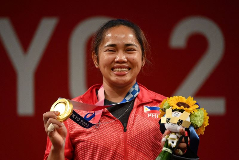 stuck in m'sia due to pandemic, philippines weightlifting athlete thanks melaka for hospitality