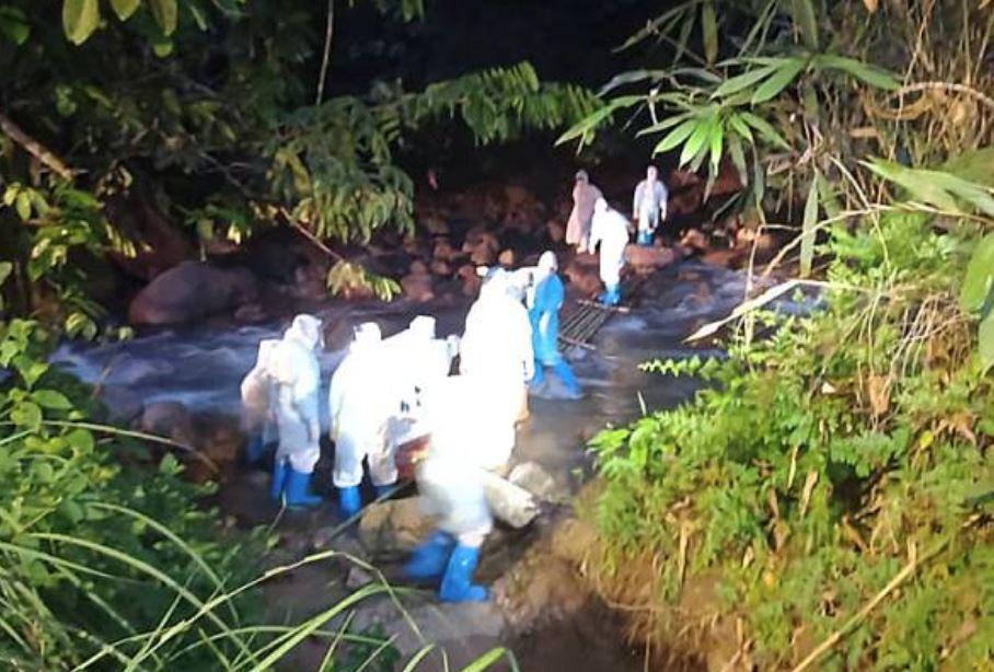 fake news alert! 250 covid-positive orang asli fled into jungle in perak is not true!