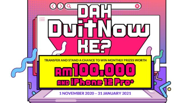 Wanna Win RM100k & iPhone 12Pro?