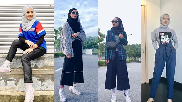 11 Fesyen Lin Ariffin Yang Simple Tapi On Point Dan Trendy