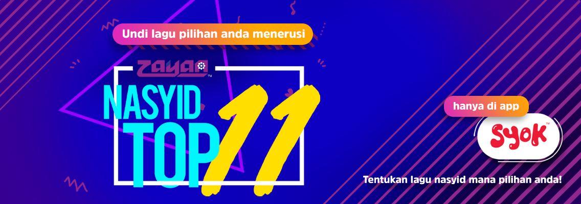 zayan nasyid top 11
