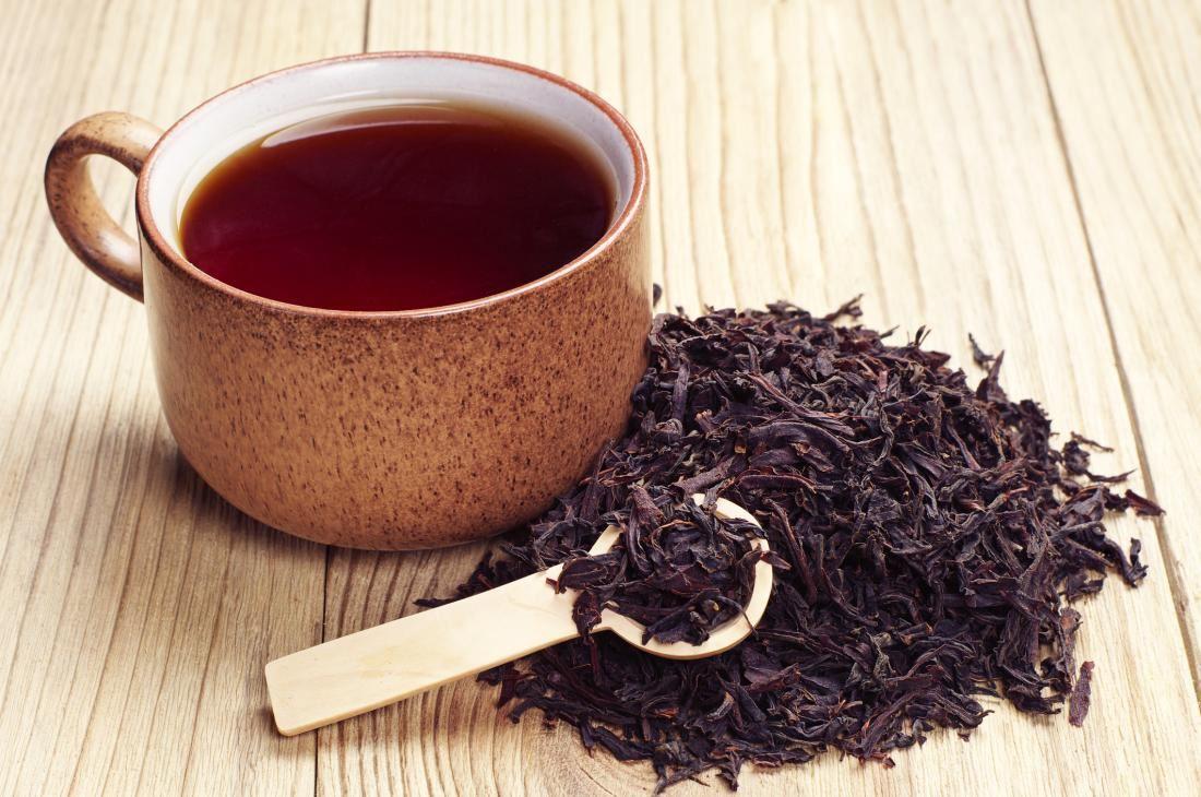 teh hitam enak rasanya sehingga ada kebaikan pada usus!